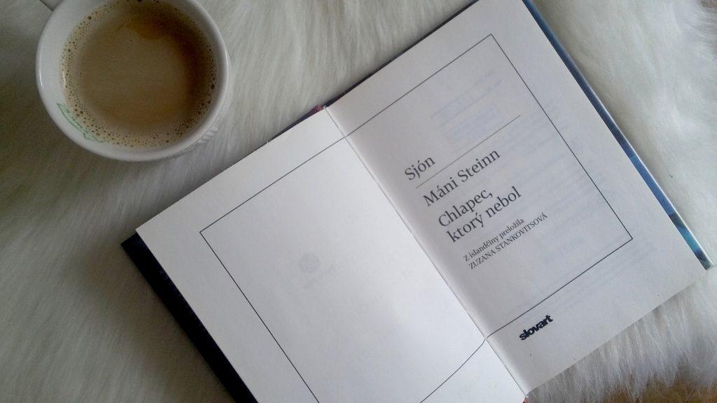 Máni Steinn Chlapec, ktorý nebol - islandký román