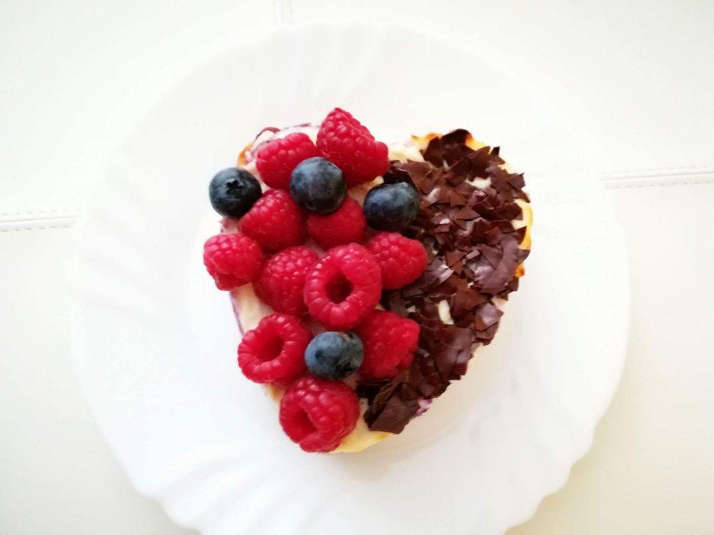 Minitortička - cheesecake s lesným ovocím - duša ženy