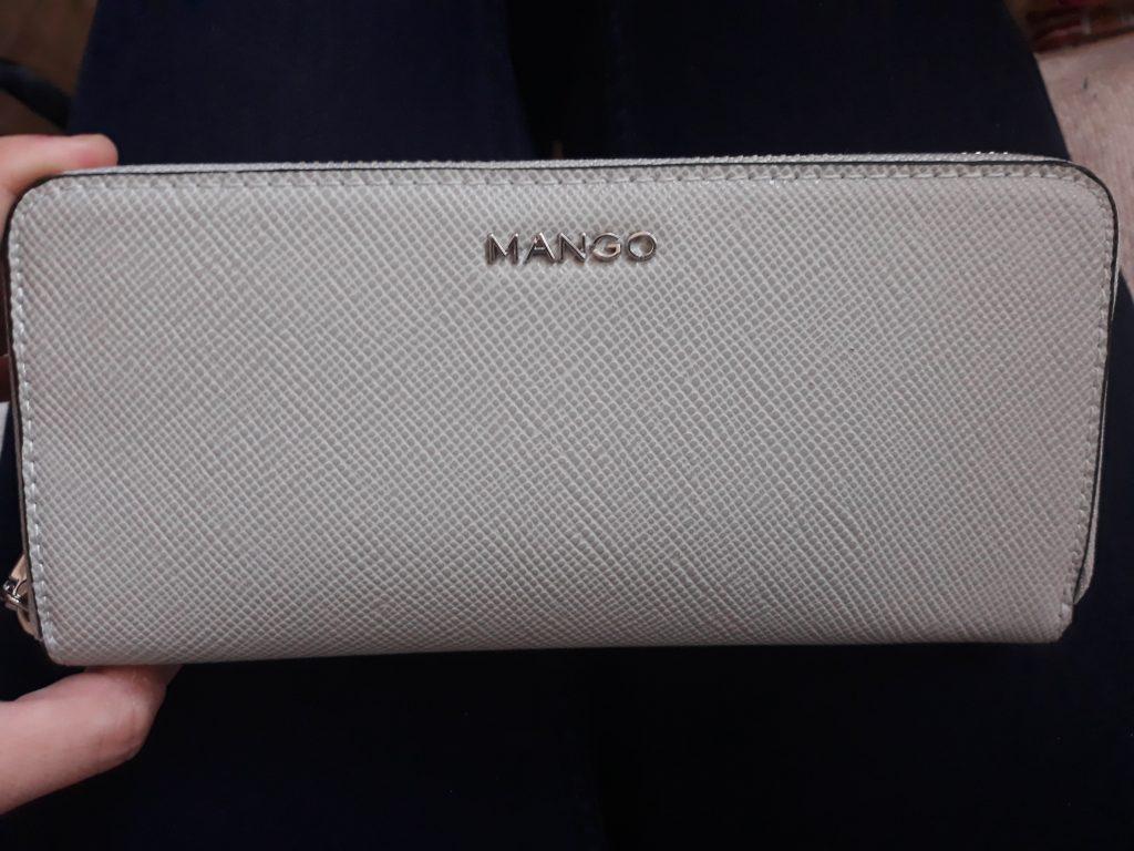 peňaženka mango