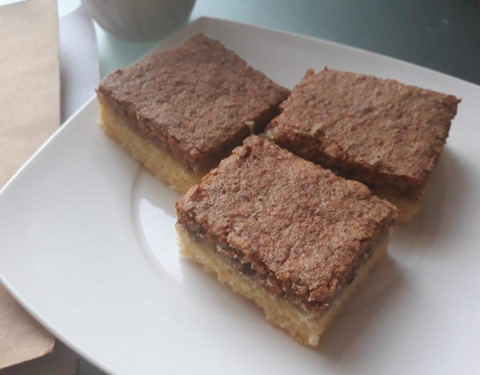 orechový koláč