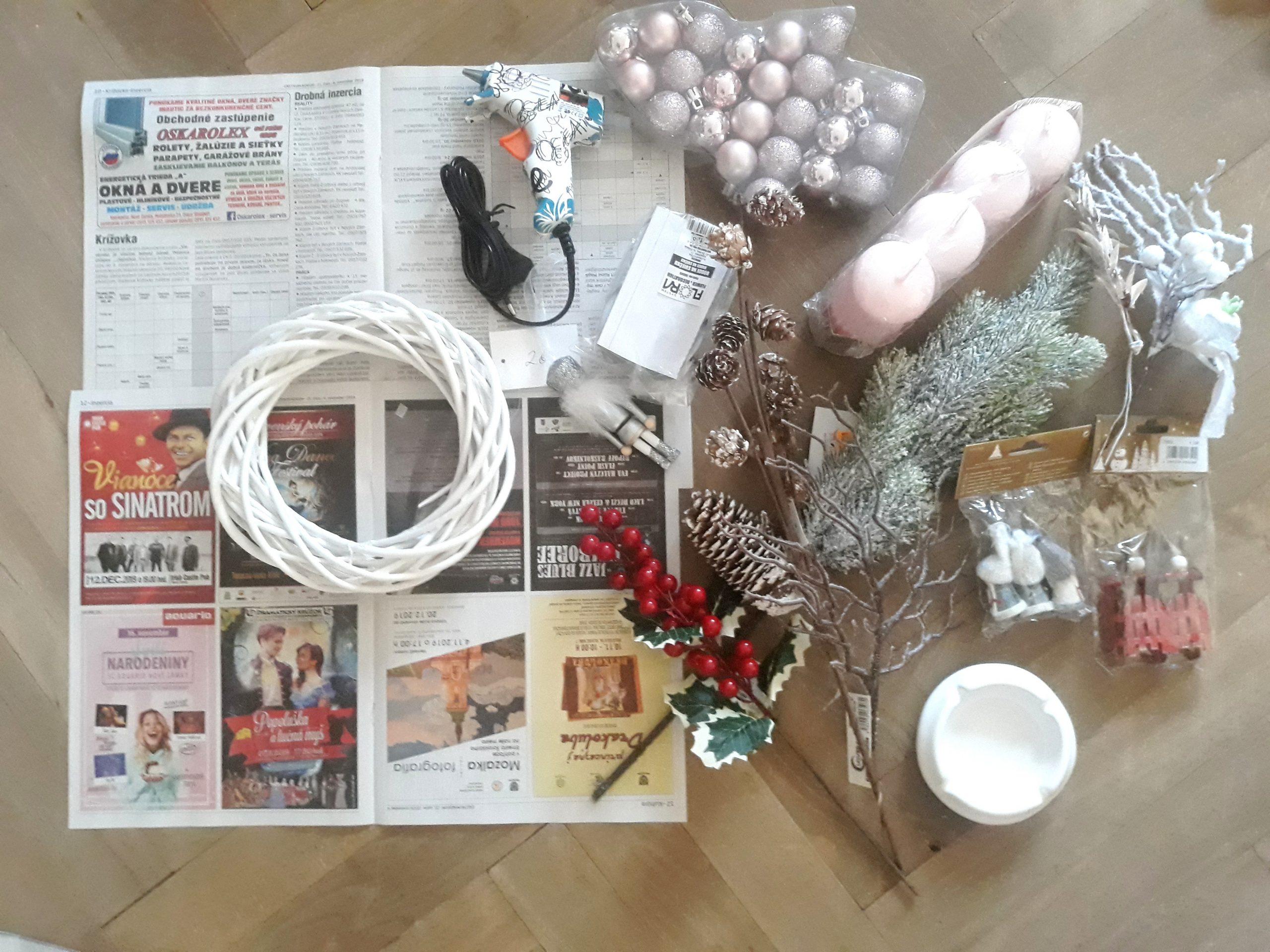 vianočné tvorenie